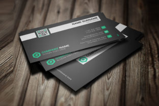 Modern Minimal Corporate Business Card Graphic Print Templates By graphs_art