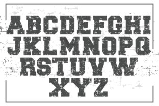 Print on Demand: Neverstop Display Font By KtwoP 2