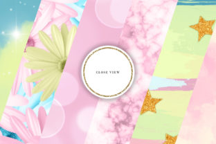 Print on Demand: Pastel Mix Backgrounds Graphic Backgrounds By Sabina Leja 3