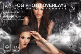 Photoshop Overlay: Fog Overlay, Smoke Graphic Actions & Presets By 2SUNS