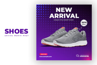 Sports Shoes Social Media Post Template Graphic Graphic Templates By Nasim98
