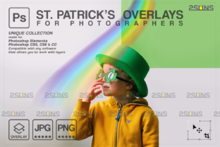 St Patricks Day Photoshop Overlay Graphic Actions & Presets By 2SUNS