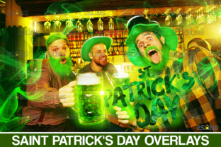 St Patricks Day Photo Overlay Graphic Actions & Presets By 2SUNS