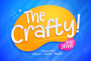 Print on Demand: The Crafty! Display Font By Gilar Studio
