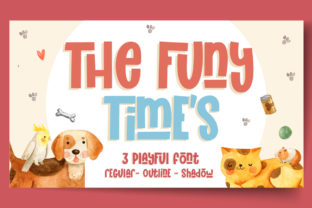 Print on Demand: The Funy Time's Display Font By Gilar Studio