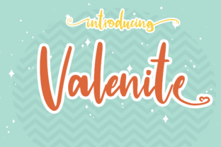 Print on Demand: Valenite Script & Handwritten Font By manglingi.std