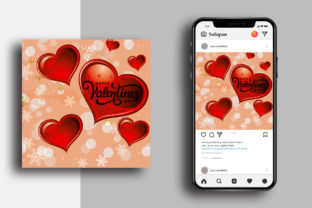 Valentine's Day Poster Design Graphic Graphic Templates By Designnox