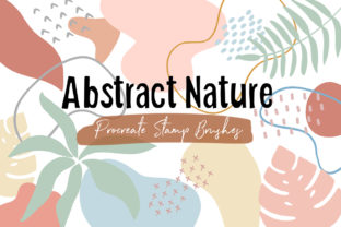 Procreate Stamp Brush - Abstract Nature Graphic Brushes By SoftPastel