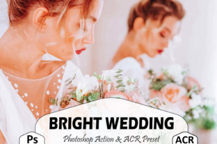 Print on Demand: 10 Bright Wedding Photoshop Actions Graphic Actions & Presets By Mattte Studio