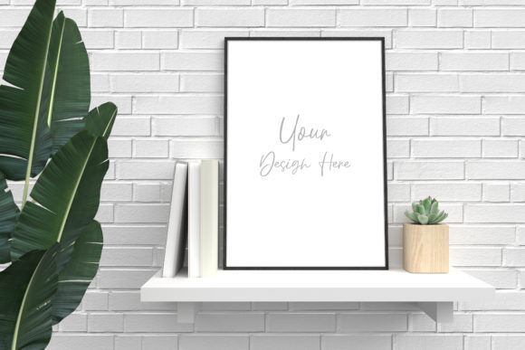 Mockup Frame Poster Mockup Photo Frame Graphic Product Mockups By Avadesing