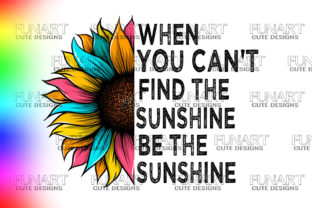 SUNFLOWER DESIGNS QUOTES SUBLIMATION PNG Graphic Illustrations By Fundesings