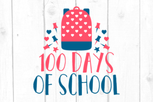 100 Days of School Svg Graphic Crafts By kaoticsvgdesigns