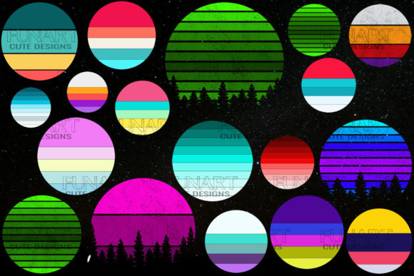 18 Backgrounds Vintage Retro Bundle Graphic Backgrounds By Fundesings