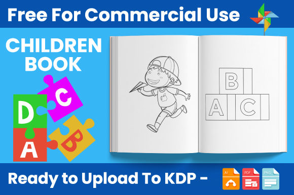 Print on Demand: Children Coloring Book for Kids - KDP Graphic Coloring Pages & Books Kids By Trend Color