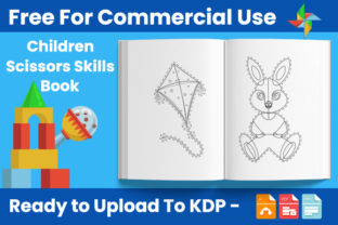 Print on Demand: Children Scissors Skills Book for Kids Graphic Coloring Pages & Books Kids By Trend Color