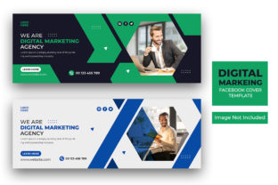 Digital Marketing Facebook Cover Graphic Web Templates By mdziahq366950