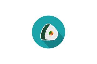 Futomaki Background Food Icon Graphic Icons By yellowhellow