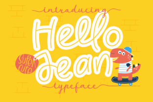 Print on Demand: Hello Jean Display Font By Dani (7NTypes)
