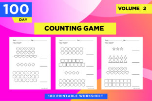 Print on Demand: How Many - Count the Geometric Shapes Graphic Teaching Materials By Riduwan Molla