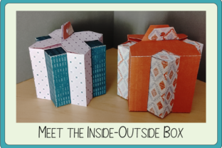 Print on Demand: Inside-Outside Box Graphic 3D Shapes By sewmanygreatdesigns