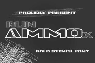 Print on Demand: Runammox Display Font By Ntorial Studio