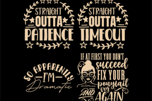 Print on Demand: Sarcastic Quotes SVG, Sassy Svg Cut File Graphic Crafts By TonisArtStudio 6