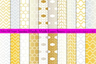 Seamless Middle Eastern Patterns Graphic Patterns By Melissa Held Designs