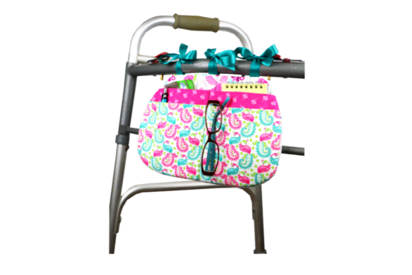 Wonderful Walker and Wheelchair Caddy - in the Hoop Embroidery Download