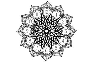 Mandala Clockface Mandalas Craft Cut File By Creative Fabrica Crafts