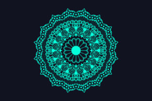 Attractive Light Color Mandala Design Graphic Crafts By grgroup03