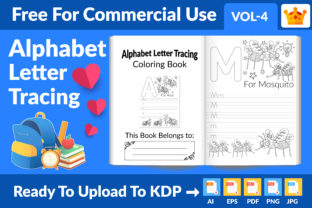 Best Alphabet Letter Tracing for Kids Graphic KDP Interiors By Md Abu Saeid