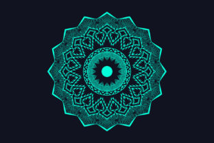 Colorful Mandala Background Design Graphic Crafts By grgroup03