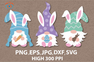 Cute Three Gnomes Svg Graphic Graphic Illustrations By Taita Digital
