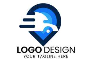 Print on Demand: Delivery Location Logo Design Graphic Logos By rowshonarabegum1975.bd