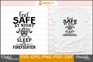 Print on Demand: Firefighter Quotes Design Svg Cut Files Graphic Print Templates By Sarofydesign