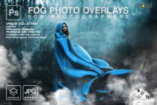 Halloween Fog Overlay Graphic Actions & Presets By 2SUNS