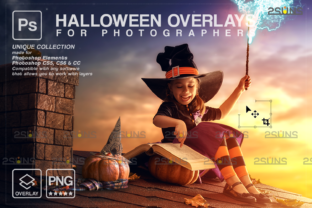 Halloween Overlay, Photoshop Overlay Graphic Actions & Presets By 2SUNS