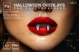 Halloween Overlay, Photoshop, Vampire Graphic Actions & Presets By 2SUNS