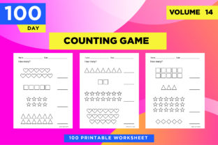 Print on Demand: How Many Printable Counting Worksheets Graphic Teaching Materials By Riduwan Molla