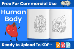 Print on Demand: Human Body Coloring Book for Kids - KDP Graphic Coloring Pages & Books Kids By Trend Color