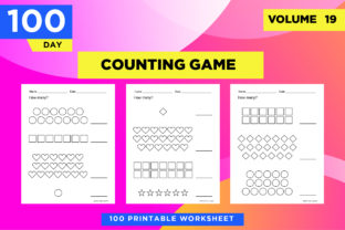 Print on Demand: KDP Math Worksheets - How Many? Graphic Teaching Materials By Riduwan Molla