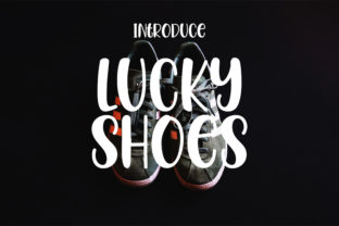 Print on Demand: Lucky Shoes Display Font By Nico Muslib