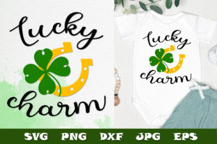 Print on Demand: Lucky Charm St. Patrick's Day SVG DXF Graphic Crafts By Citrum Nobile