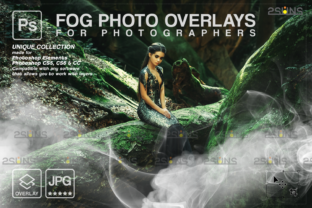 Photoshop Overlay, Smoke Overlay Graphic Actions & Presets By 2SUNS