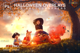 Photoshop Overlay, Ghost Overlay, Witch Graphic Actions & Presets By 2SUNS