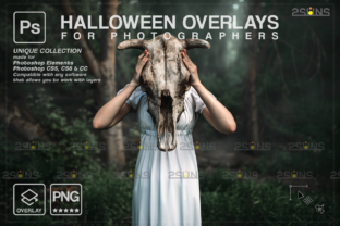 Photoshop Overlay, Halloween Png Graphic Actions & Presets By 2SUNS