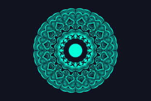 Print on Demand: Professional Mandala Background Design Graphic Crafts By grgroup03