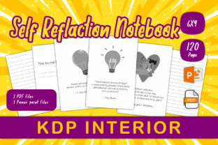 Print on Demand: Self-Reflection Journal for KDP Interior Graphic KDP Interiors By IsaraDesign