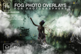 Smoke Overlay, Fog Photoshop Graphic Actions & Presets By 2SUNS