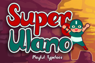 Print on Demand: Super Ulano Display Font By Sealoung